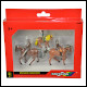 Britains - 1:32 Scale Horses and Riders (6 Count)