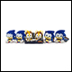 Sonic Boom - 8 Inch Plush Assortment (6 Count)