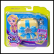 Polly Pocket - Tiny Hidden Hideouts - Unicorn Utopia (4 Count)