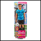 Barbie - Career Ken - Footballer (6 Count)