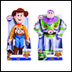 Toy Story 4 - Talking Plush Assortment (6 Count)
