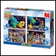 Toy Story 4 - 4 in 1 Jigsaw Puzzle Pack