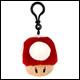 Mario Kart - Club Mocchi Mocchi - Clip On Mushroom Plush (8 Count)