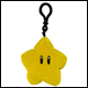 Club Mocchi Mocchi - Mario Kart - Clip On Star Plush (8 Count)