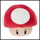 Club Mocchi Mocchi - Mario Kart - Large Plush Mushroom