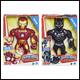 Super Hero Adventures - Mega Mighties Ironman Black Panther (4 Count)