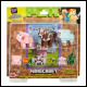 Minecraft - 3.25 Inch Comic Mode Animal Pack Assortment (6 Count)