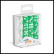 Oakie Doakie Dice - D6 Dice 16mm 12 Pack Translucent - Green