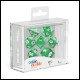 Oakie Doakie Dice - RPG Set 7 Pack Translucent - Green