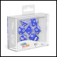 Oakie Doakie Dice - RPG Set 7 Pack Translucent - Blue