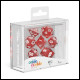 Oakie Doakie Dice - RPG Set 7 Pack Speckled - Red