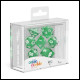 Oakie Doakie Dice - RPG Set 7 Pack Speckled - Green