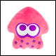 Club Mocchi Mocchi - Mario Kart - Mega Collectible Pink Neon Squid