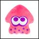 Club Mocchi Mocchi - Mega Collectible Pink Neon Squid
