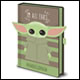 Star Wars - Baby Yoda 3D All Ears Notebook (10 Count)