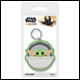 Star Wars - Baby Yoda Rubber Keyring (10 Count)
