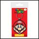 Super Mario - Mario Rubber Keyring (5 Count)