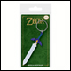 Legend Of Zelda - Master Sword Rubber Keyring (5 Count)