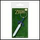 Legend Of Zelda - Master Sword Rubber Keyring (5 Count)