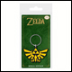Legend Of Zelda - Triforce Rubber Keyring (5 Count)