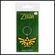 Legend Of Zelda - Triforce Rubber Keyring (5 Count)