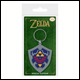 Legend Of Zelda - Hylian Shield Rubber Keyring (5 Count)