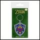 Legend Of Zelda - Hylian Shield Rubber Keyring (5 Count)