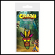 Crash Bandicoot - Aku Aku Rubber Keyring (5 Count)