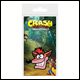 Crash Bandicoot - Extra Life Rubber Keyring (5 Count)