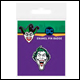 DC - Joker Haha Enamel Pin Badge (10 Count)