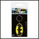 DC - Batman Symbol Rubber Keyring (5 Count)