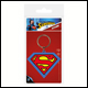 DC - Superman Symbol Rubber Keyring (5 Count)