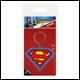 DC - Superman Symbol Rubber Keyring (5 Count)