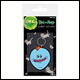 Rick & Morty - Mr Meeseeks Rubber Keyring (5 Count)
