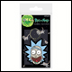 Rick & Morty - Rick Crazy Smile Rubber Keyring (5 Count)