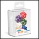 Oakie Doakie Dice - D20 Spindown Dice Set 5 Pack - Marble