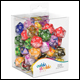 Oakie Doakie Dice - D20 Spindown Dice Set 50 Pack - Mixed