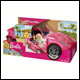 Barbie - Glam Convertible Car Playset (2 Count)