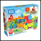 Mega Bloks - 50 Piece ABC Learning Train (2 Count)