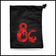 Ultra Pro - Dungeons & Dragons - Treasure Nest - Black & Red