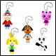 Animal Crossing Danglers (12 Count)