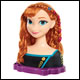 Frozen 2 - Deluxe Anna Styling Head