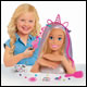 Barbie - Deluxe Blonde Glitter Styling Head
