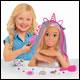 Barbie - Deluxe Blonde Glitter Styling Head