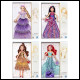 Disney Princess - Style Series Assortment (4 Count)