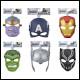 Avengers - Hero Mask Assortment (6 Count)