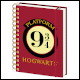 Harry Potter - Hogwarts 9 3/4 Notebook (10 Count)