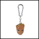 The Guardians Of The Galaxy - Baby Groot 3D Keychain (10 Count)