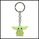 The Mandalorian - The Child Rubber Keychain