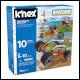 KNex - Beginner Fun Fast Vehicles 10 Model Building Set (6 Count)